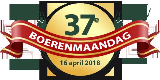 Boerenmaandag 2017 is de 37e editie since 1980